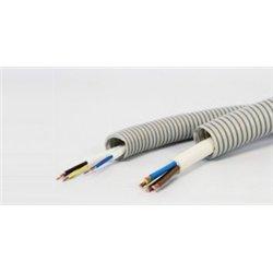 T-plast (Wimar) труба гофр. ПВХ d 20мм с зондом (бухта 10м) цена за 1м 55-01-009-0002