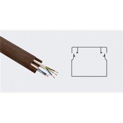T-plast кабель-канал ПВХ 15х10 с текстурой дерева венге 3D 2м (цена за 1м) 50-01-011-0002