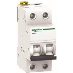 Schneider Acti 9 автоматический выкл. iK60 2P 10А 6кА х-ка С 440В A9K24210