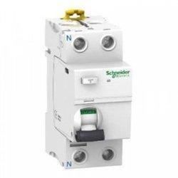 Schneider Acti 9 диф. выключатель нагрузки iID K УЗО 2P 25А 30мА 230В (электромех.) типа AС A9R50225