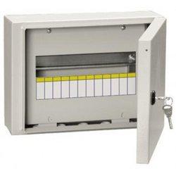 IEK щит распред. навесной метал. ЩРн-12з-0 У2 (240х330х120) с замком IP54 MKM11-N-12-54-Z