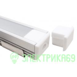 Smartbuy аксессуары для св/д профиля 2загл.+4скобы 16x12мм access SBL-Al16x12