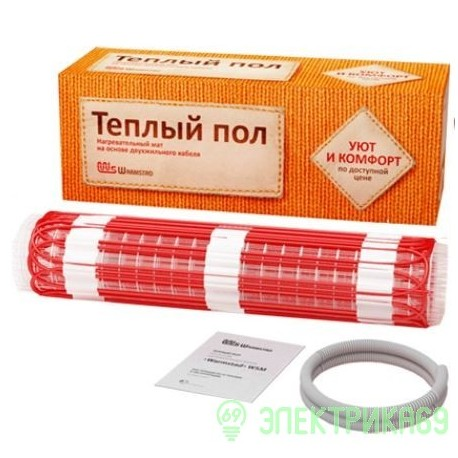 Warmstad теплый пол  WSM-100-0,65 (100Вт*0,65м2)