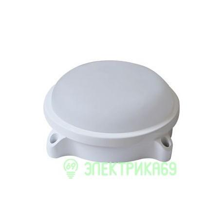 LEEK св-к влагозащ. круг св/д 15W(1200lm) 4000 IP54 металл 167x70 LE LED RBL WH 15W CW замена НПП