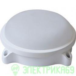 LEEK св-к влагозащ. круг св/д 20W(1600lm) 4000 IP54 металл 221x80 LE LED RBL WH 20W CW замена НПП