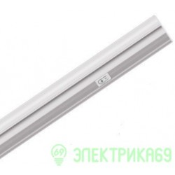 Uniel св-к св/д линейный 5W(400lm) 4200 металл L503, c выкл., серебро ULI-L02-5W-4200K-SL