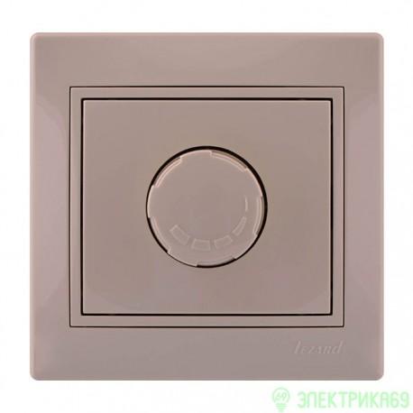 Lezard Мира диммер СУ 1 кл. (800Вт) крем. 701-0303-115