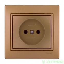 Lezard Мира роз. СУ 1 мест. металлик золото (керамика) 701-1313-121