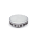 ASD GX53 св/д 4.2W 3000K 2K (4W) 74x29 рифл. стекло пластик standard