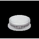 ASD GX53 св/д 6W 3000K 2K 74x29 рифл. стекло пластик standard