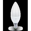 ASD Свеча C37 E14 5W 3000К 2K 104x37 пластик/алюм standard