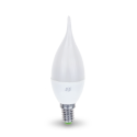 ASD Свеча на ветру C37 E14 5W 3000К 2K 115x37 пластик/алюм standard