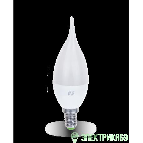ASD Свеча на ветру C37 E14 5W 4000К 4K 115x37 пластик/алюм standard