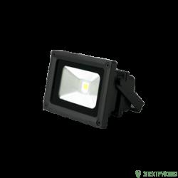 Gauss прожектор светодиодный 20W(1500lm) IP65 6500K черный 6K 613100320
