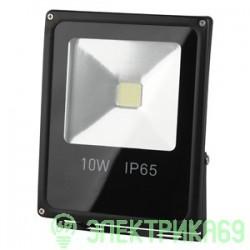 ЭРА прожектор св/д 10W(700lm) COB 6500K 85x115x35 IP65 6K LPR-10-6500К-М