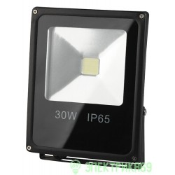 ЭРА прожектор св/д 30W(2100lm) COB 6500K 225x185x48 IP65 6K LPR-30-6500К-М