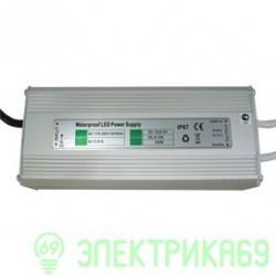 Ecola Блок питания для св/д лент 100W 220V-12V IP67 189х72х43 B7L100ESB