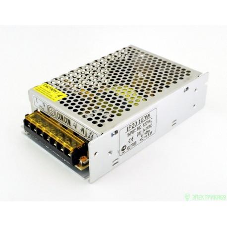 Ecola Блок питания для св/д лент 12V 100W IP20 162х98х42 (интерьерный) B2L100ESB