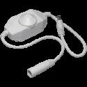Ecola Контроллер 12V 72W 6A Диммер на проводе с ручкой для управления CDM06AESB