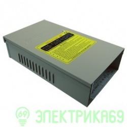 Ecola Блок питания для св/д лент 400W 220V-12V IP53 225х145х66 вентилятор B3L400ESB