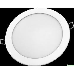 Navigator св-к встр. св/д даунлайт 18W(1300lm) 4000 240x24 серебро NLP-R1-18W-R240-840-WH-LED 94349