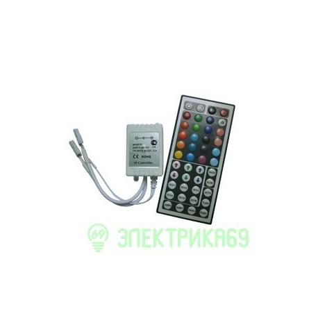 Ecola Контроллер 144W 12V 12A RGB c большим ИК пультом CRL144ESB