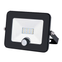 General прожектор св/д с датч.движ. 10W(860lm) SMD 6500K 153x130x28  IP65 GTAB-10-IP65-6500-S 403400