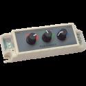 Ecola Контроллер 12V 108W 9A Диммер RGB c ручками для управления CDM09AESB