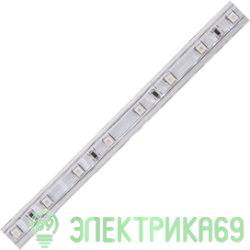 Ecola Лента св/д 220V 12x7 4.8W/m 60Led/m IP68 Зеленый (цена за метр/бухта 100 м) SA1G05ESB