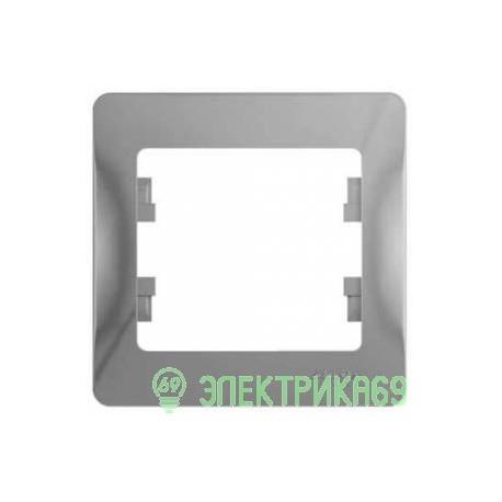 Schneider GLOSSA рамка СУ 1 мест. алюминий GSL000301