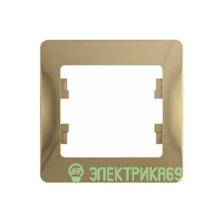Schneider GLOSSA рамка СУ 1 мест. титан GSL000401