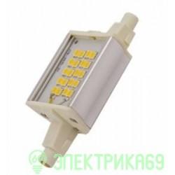 Ecola прожекторная F78 R7s 6W 2700K 2K 78x20x32 Premium алюм. радиатор J7PW60ELC