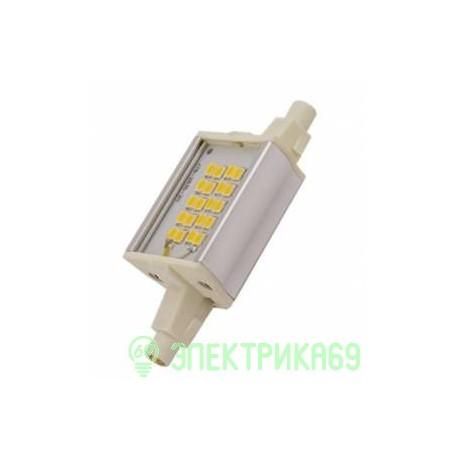 Ecola прожекторная F78 R7s 6W 6500K 6K 78x20x32 Premium алюм. радиатор J7PD60ELC