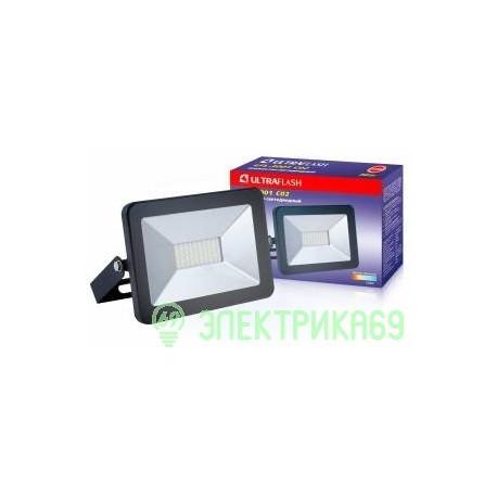 Ultraflash прожектор св/д LFL-3001 C02 30W(1900lm) SMD 6500K 6K 200x140x30 230V IP65
