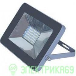 Ecola прожектор св/д 10W 2800 2K 115x80x14 серебристо-серый IP65 JPSW10ELB