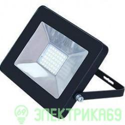 Ecola прожектор св/д 10W 4200 4K 115x80x14 черный IP65 JPBV10ELB