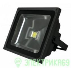 Gauss прожектор светодиодный 50W(3800lm) IP65 6500K черный 6K 613100350