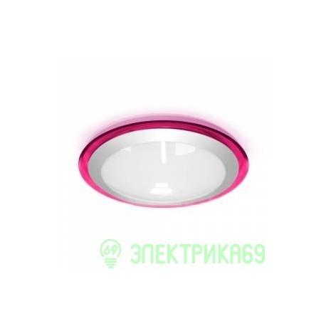 Estares св-к накладной св/д 25W(2400lm) Белый 4K d430x90мм фиолетовый ALR-25
