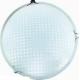 LEEK св-к св/д декоративный 20W(1400lm) 6K плафон стекло сапфир d300x85 IP20  СЛЛ 010 (старый 557932