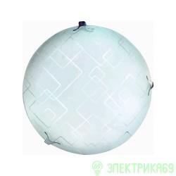 LEEK св-к св/д декоративный 20W(1400lm) 6K плафон стекло сириус d300x85 IP20 СЛЛ 020 (старый 557937)