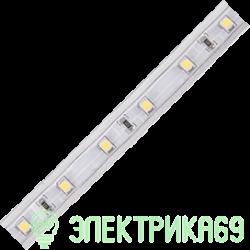 Ecola Лента св/д 220V 12x7 4.8W/m 60Led/m IP68 Зеленый (цена за метр/бухта 10 м) S10G05ESB