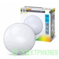 ASD св-к св/д ЖКХ СПБ-3 30W(2400lm) 4000K 4K d350x60мм белый пластик IP40