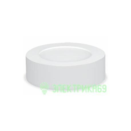 ASD/inHome св-к накладной св/д NRLP-eco 6W(420lm) 4000К 4K 120x35 белый, пластик., IP40 0625