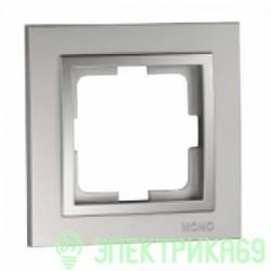 Mono DESPINA рамка СУ 1 мест. Серебро  102-210000-160