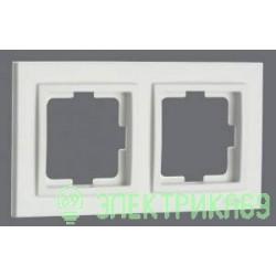 Mono DESPINA рамка СУ 2 мест. Бел 102-190000-161
