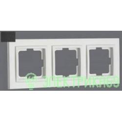 Mono DESPINA рамка СУ 3 мест. Графит 102-200000-162