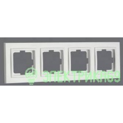 Mono DESPINA рамка СУ 4 мест. Бел 102-190000-163