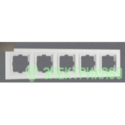 Mono DESPINA рамка СУ 5 мест. Бронза 102-230000-164
