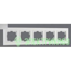 Mono DESPINA рамка СУ 5 мест. Серебро 102-210000-164