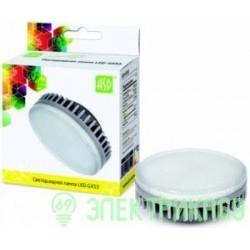 ASD GX53 св/д 8W 3000K 2K 74x29 рифл. стекло пластик standard 5096